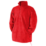 Куртка Half Zip Fleece, красный_2XL, 100% п/э, 300 гр