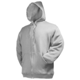 Толстовка «Zip Through Hooded Sweat»,серый_L, 70%х/б, 30%п/э