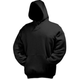 Толстовка Hooded Sweat, черный_M, 80% х/б, 20% п/э
