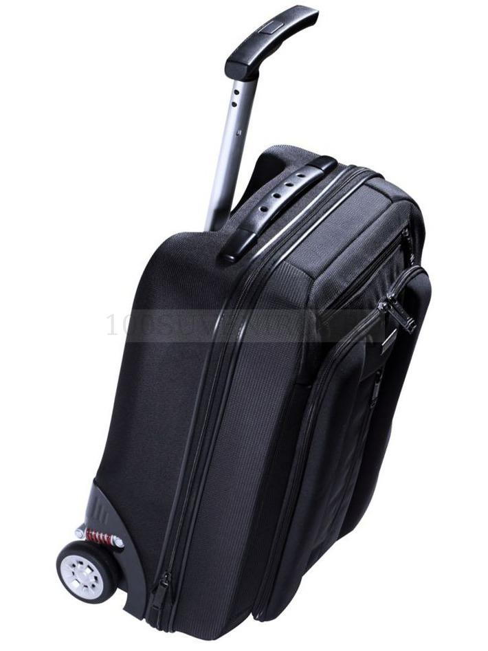Чемодан на колесах Sky partner 2 in 1, черный - купить чемоданы ... e2a61b457b4