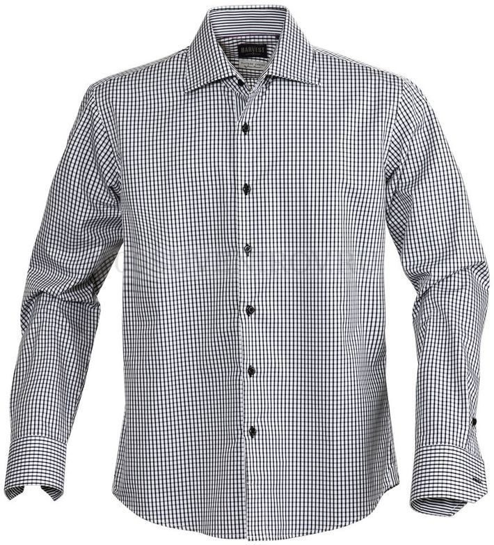 848242fdf50 Фото Рубашка мужская в клетку TRIBECA