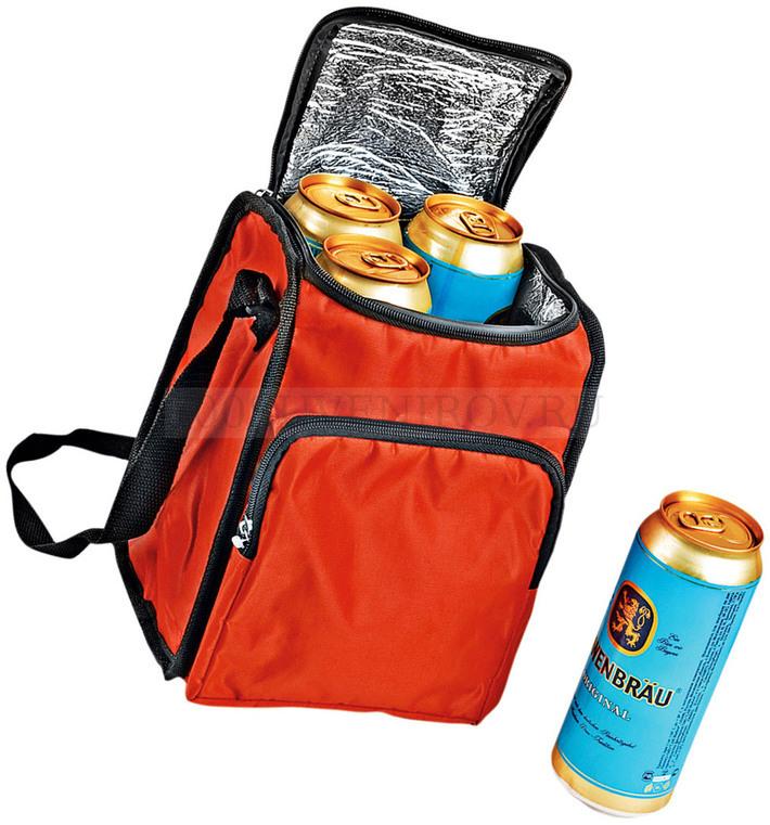 b91ffcd412d7 Сумка-холодильник на 3,5 л с отделением на молнии, красная - купить ...