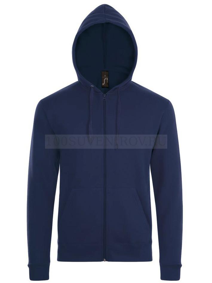 91212959 Толстовка унисекс STONE, темно-синяя 3XL - купить толстовки в ...