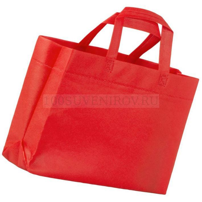 fa92191a92bc Удобные сумки красные для покупок SPAN 3D с логотипом   Сумки оптом ...