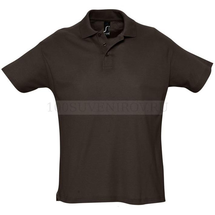 3962c664efe1 Рубашка поло мужская SUMMER 170 шоколад M - заказать рубашки в ...