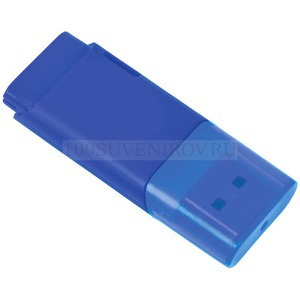"Фото USB flash-карта ""Osiel"" (8Гб),синий, 5,1х2,2х0,8см,пластик"