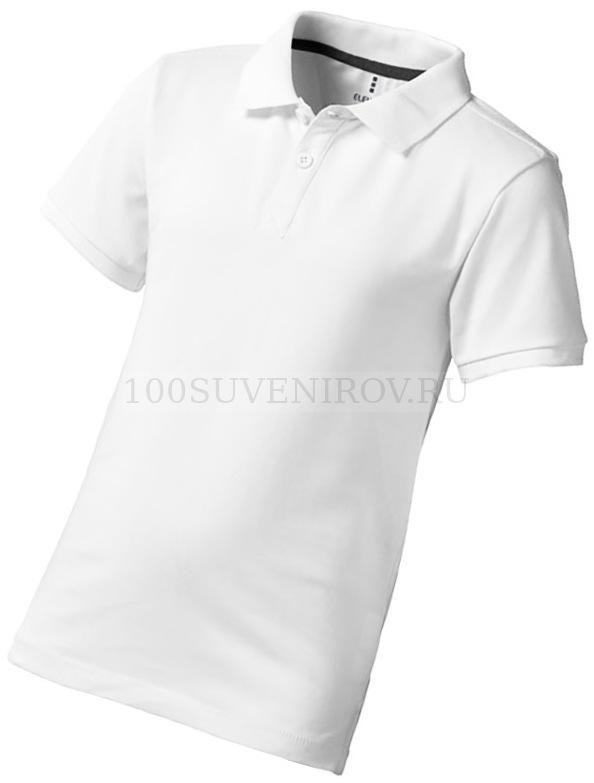 eaa9688d9fad Белая рубашка поло из хлопка CALGARY детская