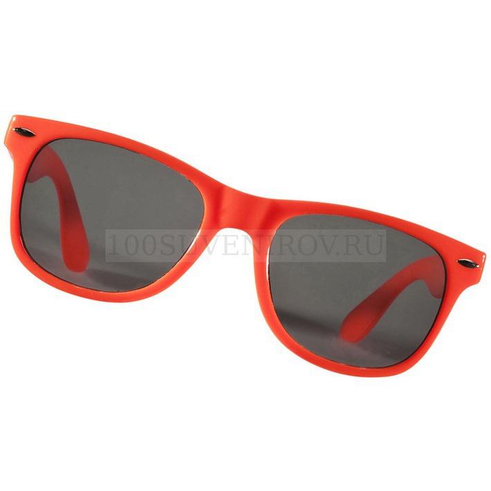 cfcd05357d36 Солнцезащитные очки оранжевые из пластика SUN RAY