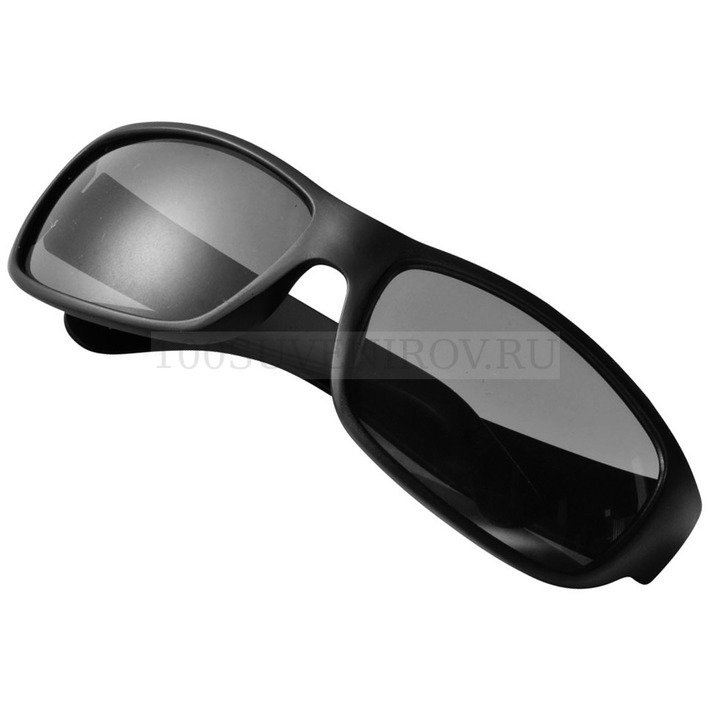 0cb0af8a28f0 Солнцезащитные очки черные из пластика ARENA