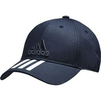 Бейсболка SIX-PANEL CLASSIC 3-STRIPES, темно-синяя 54