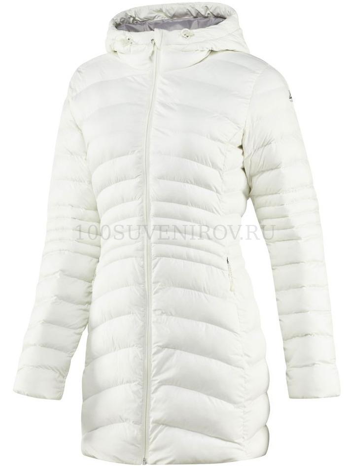 b8056720f67 Стильные женские куртки (L) белые OUTDOOR DOWNLIKE с логотипом ...