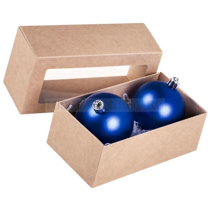 Стильное оформление новогодних шаров - картинка