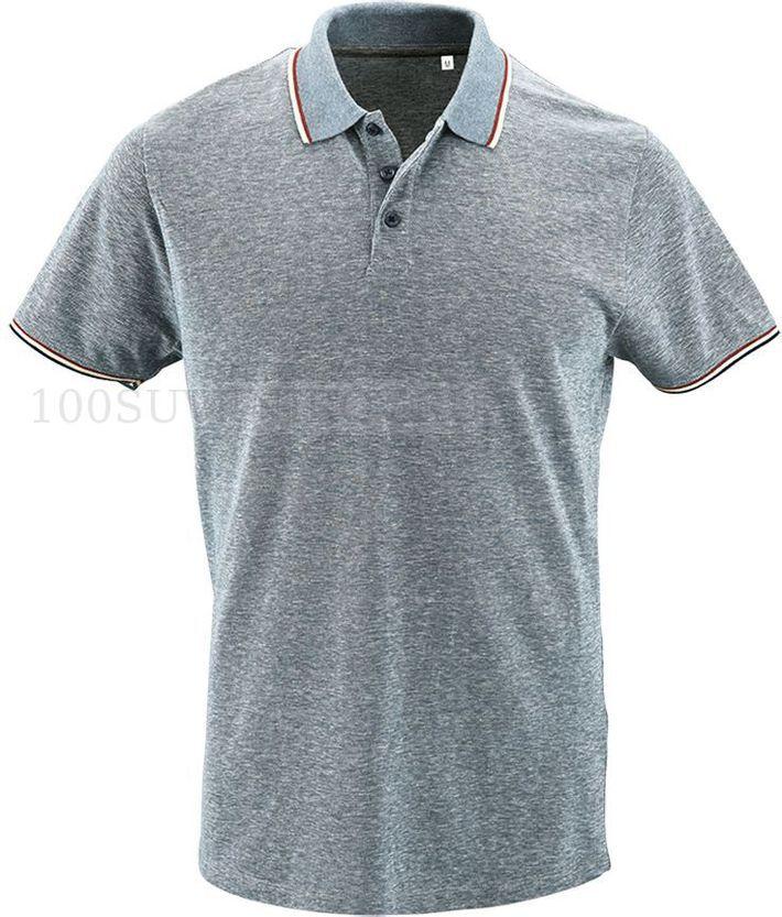 30b0c5b637d3 Рубашка поло мужская PANAME MEN, голубой меланж 3XL - купить рубашки ...
