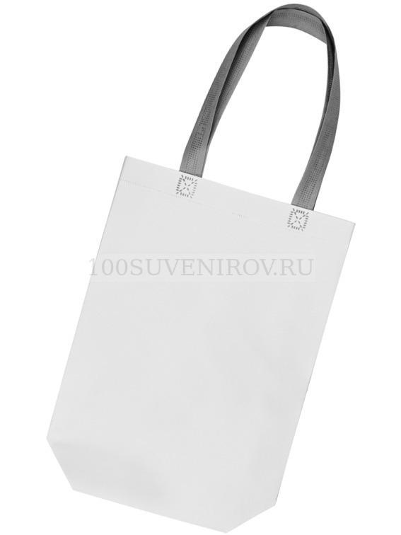 6eead6126cae Белая матовый сумка из полипропилена для шопинга UTILITY ламинированная