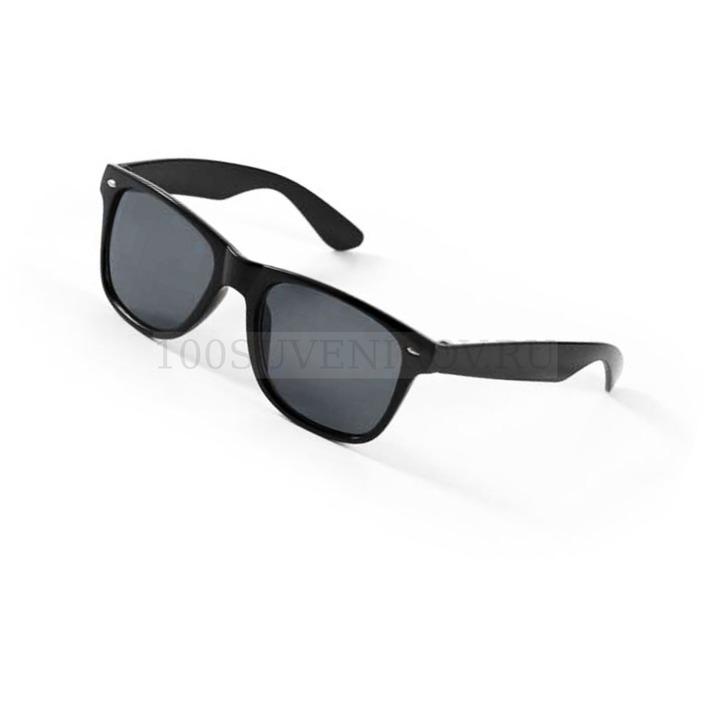 32208c7fdd8a Недорогие солнцезащитные очки черные из пластика SUNDANCE   Очки под ...