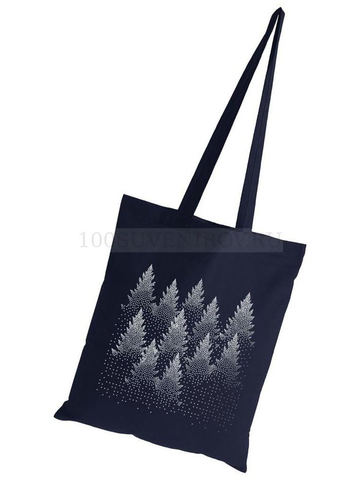 7d0a506a5527 Удивительные холщовые сумки темно-синие из хлопка SILVER CHRISTMAS ...