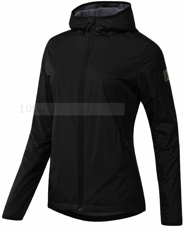 9d55c4fe4dc Элитные женские куртки (XS) черные из полиэстера OUTDOOR с флисовой ...