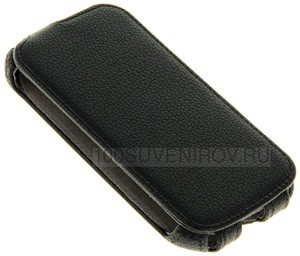 Фото Чехол-сувенир 48171 Flip-case Alcatel 5036-POP C5 черный