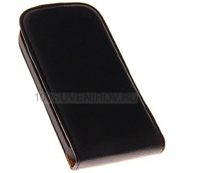 Фото Чехол-сувенир 48566 Flip-case HTC One SV (черный), серия Slim
